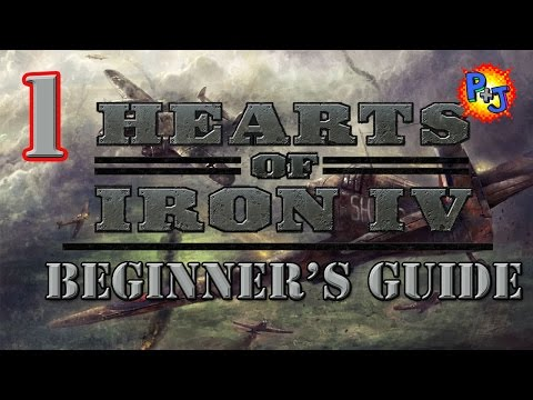 Hearts of Iron 4 Beginner Guide Tutorial Part 1: What You Need to Know to Start Playing HOI 4