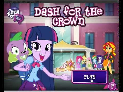 My Little Pony Equestria Girls - Canterlot High School Dash