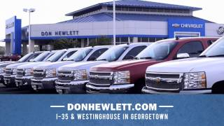 Don Hewlett Chevrolet Buick is the #1 Chevrolet Dealer in Central Texas for Six Years Running!
