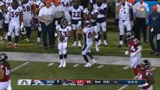 Khalfani Muhammad - 31 yd Run Broncos vs Falcons