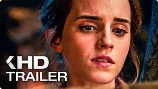 Beauty and the Beast ALL Trailers (2017)