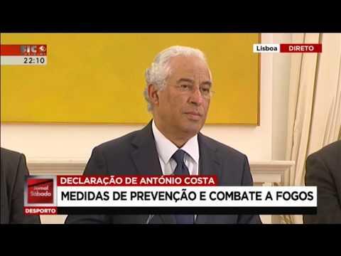 Conselho de Ministros Extraordinário | António Costa | Conferência de Imprensa