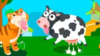 """Baby Play and Learn """"Animal Paradise"""" Baby Panda Learn Animals Names fun Games"""