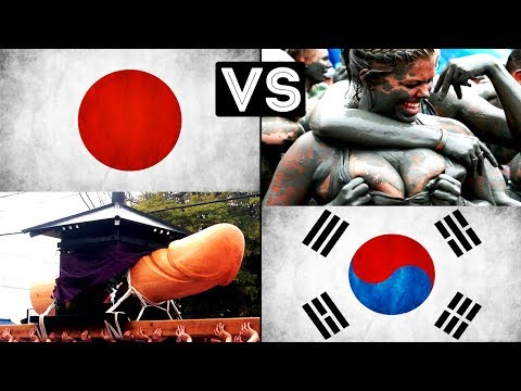 Japan vs South Korea, Tourist Spot, Cars,Industry Comparison | 2017 Comparison