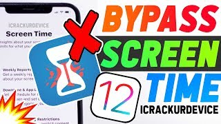 Bypass iOS 12 Screen Time App & Game Restrictions! (No Computer!)