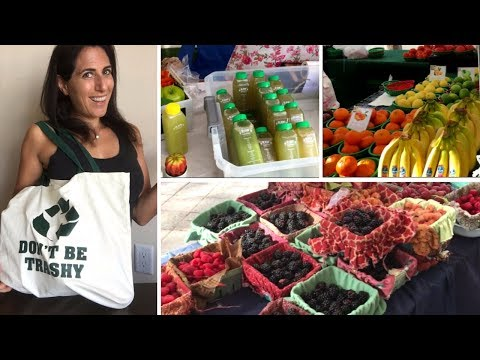 POPSICLES, COLD PRESSED JUICE, AND RAW VEGAN COOKIES - THE GREEN MARKET IS BACK!