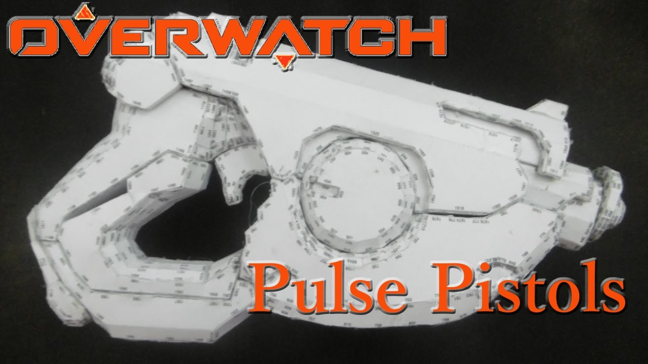 Overwatch tracer Pulse Pistols tutorial