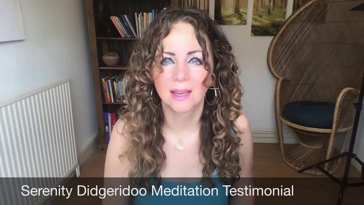Serenity Didgeridoo Meditation Testimonial