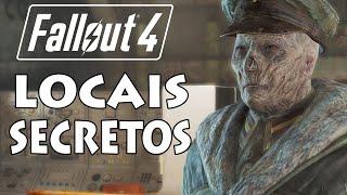 Fallout 4 - Locais Secretos (Submarino, Fogos, Gatinhos e Topo de Diamond City)
