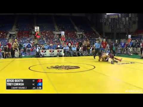 145 Champ. Round 2 - Trey Cornish (North Carolina) vs. Jerod Booth (Arizona)
