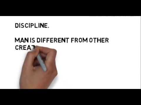 short speech on discipline
