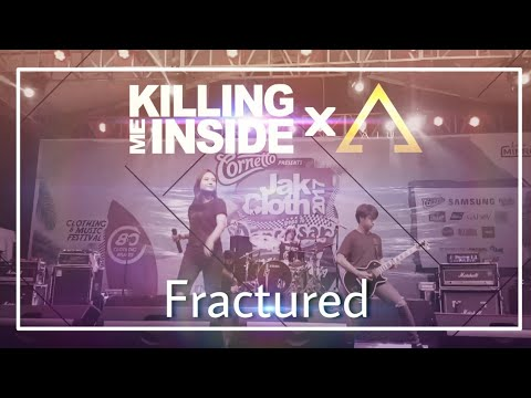 Killing Me Inside (KILMS) x Aiu - Fractured Live at JakCloth Goes to Denpasar (05/08/2017)