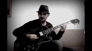 Velha infância (Tribalistas) - by Dário Figueiredo (Jazz guitar instrumental)