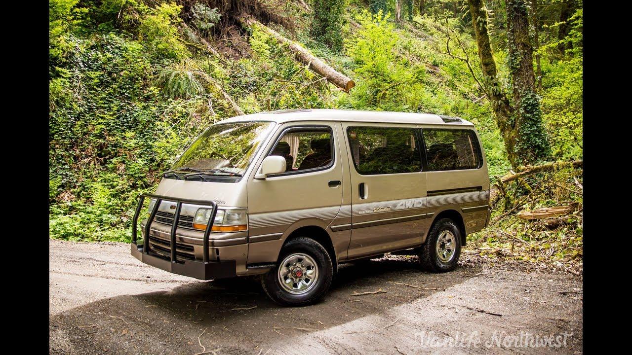 SALE REVIEW: 1991 Toyota HiAce Super Custom Limited 4wd Diesel JDM Van //  by VANLIFE NORTHWEST