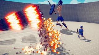 GIANT SKELETON & SKELETON vs EVERY GOD | TABS - Totally Accurate Battle Simulator