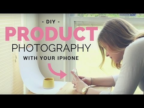 Easy Etsy Product Photography at Home with an iPhone!