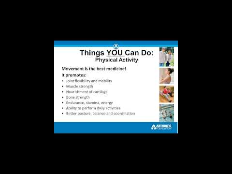 Arthritis  Self Management Tools For Your Community