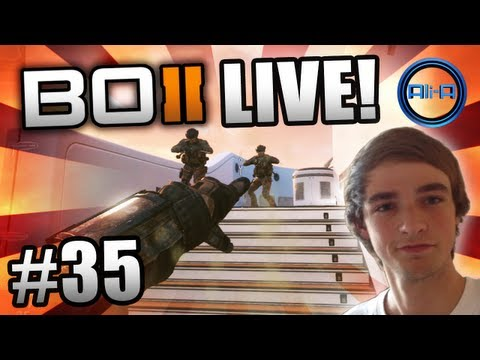 """""""CHEEKY STICK!"""" - BO2 LIVE w/ Ali-A #35 - (Call of Duty: Black Ops 2 Multiplayer Gameplay)"""