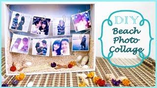 Diy Beach Photo Collage | Summer Gift Idea