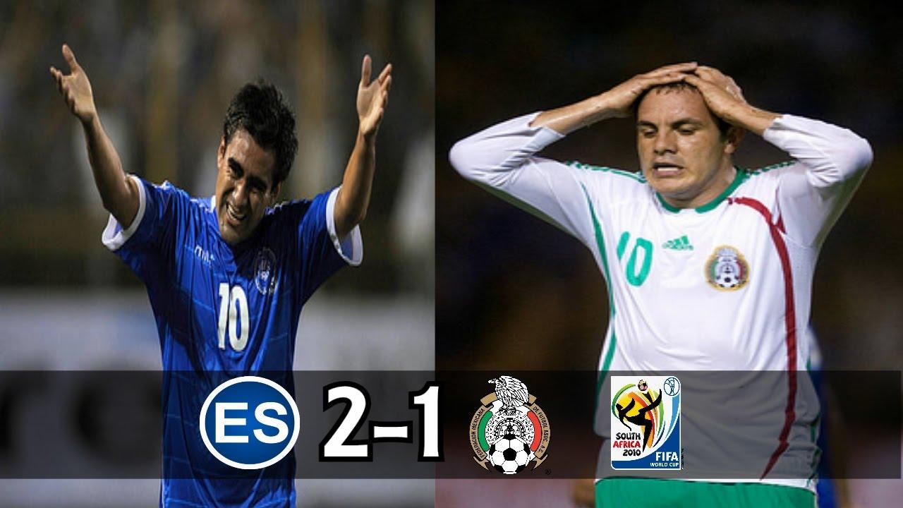 El Salvador  Vs Mexico  Full Game Es  Wcq