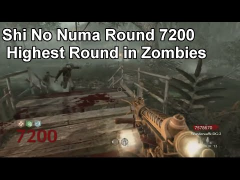 Zombies Verruckt World Record Round 138 Double Trap Strat