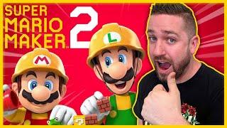 Tim Gettys Live Reaction Super Mario Maker 2 Nintendo Direct