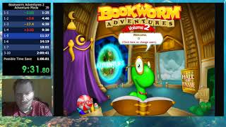 Bookworm Adventures Volume 2 (PC) Adventure Mode speedrun in 1:44:03