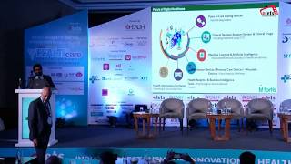Shalabh Dang, HeadDomestic Sales, Fortis Healthcare at Elets Annual HIS 2019