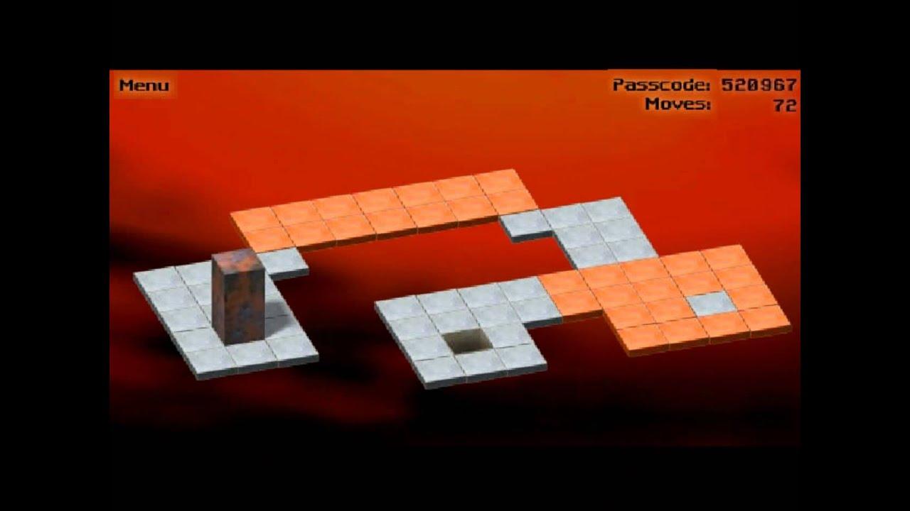 bloxorz level 30 walkthrough