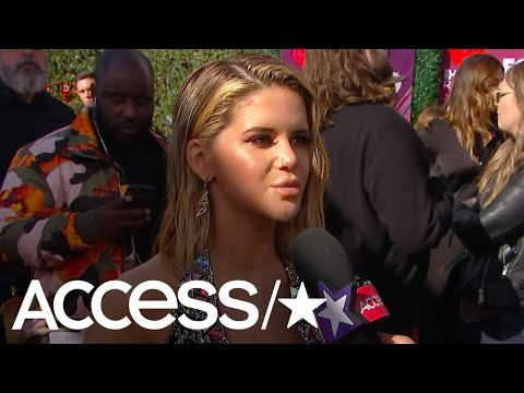 Maren Morris Can't Wait To 'Hug It Out' With Pal Taylor Swift At The iHeartRadio Music Awards