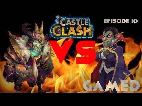 Castle Clash Episode 10: Skull Knight Versus Vlad Dracula! | Gamed
