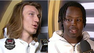 Trevor Lawrence and Travis Etienne excited for opportunity against LSU | College Football on ESPN