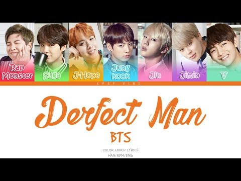 BTS - Perfect Man [Color coded Han|Rom|Eng lyrics]