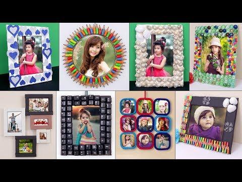 10 Photo Frame Creation !!! DIY Handmade Ideas