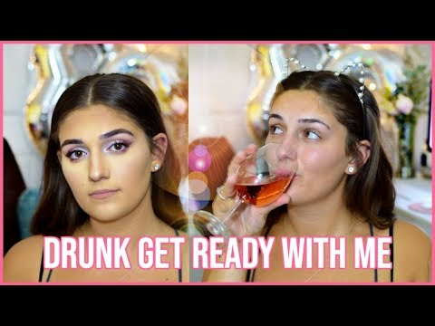 drunk get ready with me on my birthday | Amber Greaves thumbnail