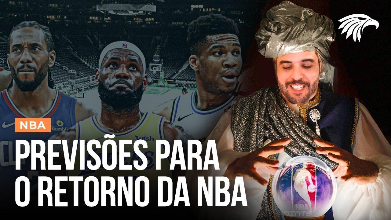PALPITES PARA O RETORNO DA NBA (COM BULGARELLI E DANILO CASTRO)