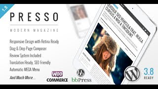 PRESSO Wordpress Theme Review & Demo | Modern Magazine / Newspaper / Viral Theme | PRESSO Price & How to Install