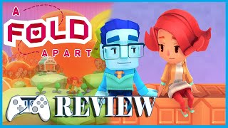 A Fold Apart Review - Fold Your Way to Love (Video Game Video Review)