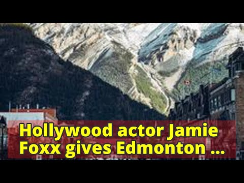 Hollywood actor Jamie Foxx gives Edmonton charity a social media shout-out