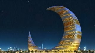 Crescent Moon Tower in Dubai