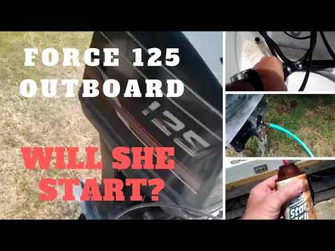 hqdefault force 125 outboard on renken 2000 cuddy cabin cold start engine  at readyjetset.co