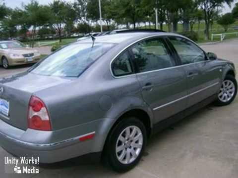 2003 Volkswagen Passat #V10705A in Dallas Garland, TX - SOLD