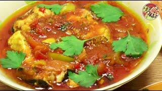 Рыба в пряном томатном соусе (Храйме). Просто, вкусно, недорого.