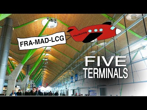 5 Terminals: Madrid Barajas Airport, Changing Terminals 4S To 4