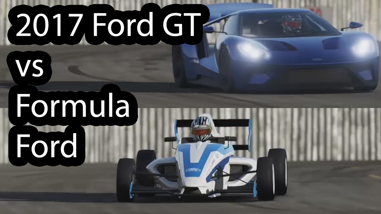 2017 Ford Gt Vs Formula Ford 1 0l Ecoboost Top Gear Youtube