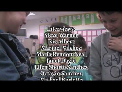 Dual language bilingual program at Evergreen Elementary