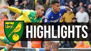 HIGHLIGHTS: Norwich City 2-0 Ipswich