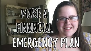 Why you need to make a financial emergency plan -$11.348