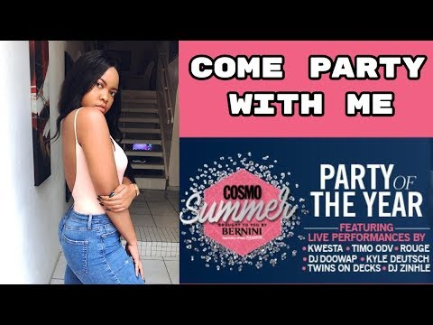 COSMO SUMMER PARTY !! South African