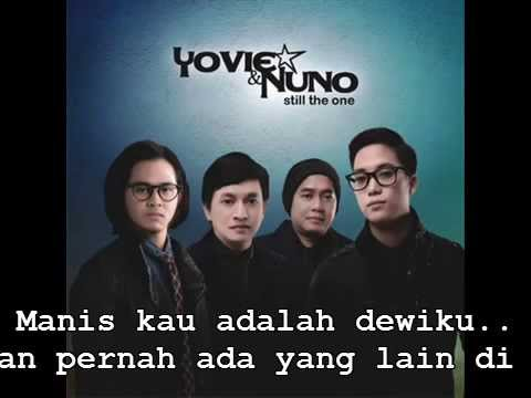 Yovie and Nuno - Manis (Lyric's)